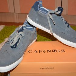 Brand New Italy Suede Sneakers