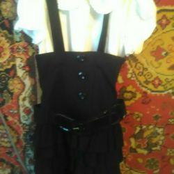 Сарафан с блузуой