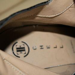 Branded German shoes.