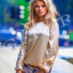 Блуза открытая спина