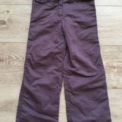 Sela παντελόνι, χρώμα μελιτζάνας, για 6 χρόνια, κατάσταση από