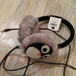 New warm headphones