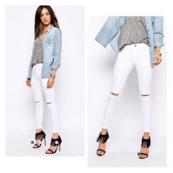 New jeans with cuts Denim Life by Pimkie