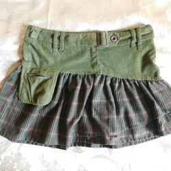 Beautiful khaki skirt