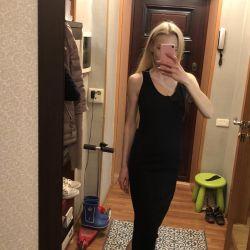 Midi dress with Benetton slit