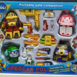 New Robocar POLI Kits