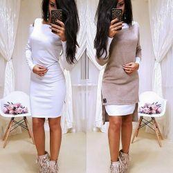 Νεωτερισμός εποχής: φόρεμα + χιτώνα