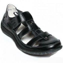 Yeni hakiki deri sandalet