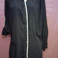 Μπλούζα - πουκάμισο νέο, r. 62