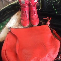 Pantofi și geantă