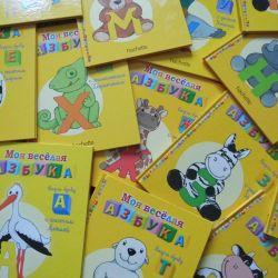 Neşeli alfabem. Çocuklar için kitaplar.