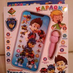 Phone karaoke Paw Patrol
