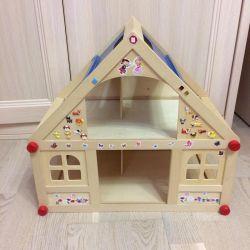 🏠Wooden dollhouse
