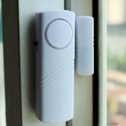 Security sensor on windows, doors