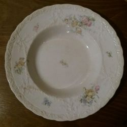 English antique plate.