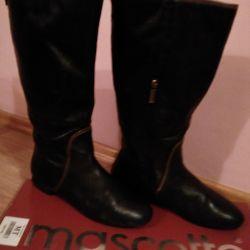 Boots, autumn.Mascotte
