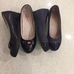 İki çift ayakkabı sf 36 Chessford