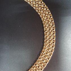 Bismarck bracelet in three rows (lightweight)