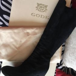 GODE boots are winter, natur