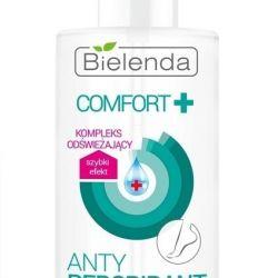 Antiperspirant for feet (spray