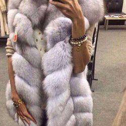 Fur natural arctic fox