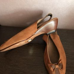Suede shoes 35.5-36