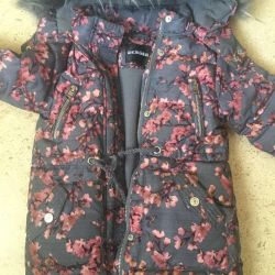 Down jacket for a girl, p.98 down 80% -pero 20%