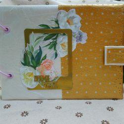 Sale. Handmade Photo Album