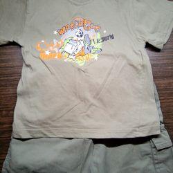 Σορτς + T-shirt.