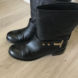 Italy leather boots