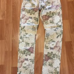 Pants with stones