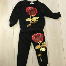 Costume with rose new