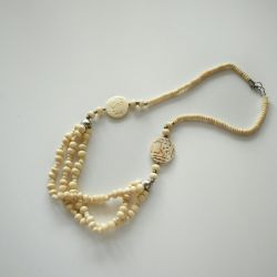 Beads from a bone