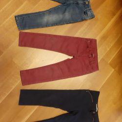 Pantolon ve kot pantolon 98 cm.