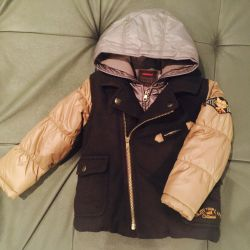 Stylish jacket on a catimini boy