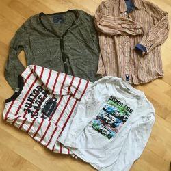 Îmbrăcăminte pentru un băiat de 7-8 ani