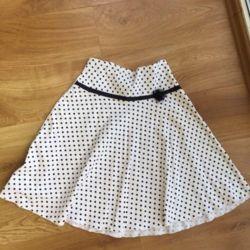 Skirt of peas