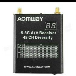 Aomway 5.8G 48СН приймач з реєстратором Відеорег