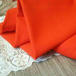Fabric the dense rubberized needlework Europe