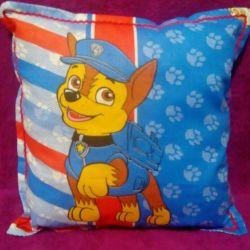 Декоративная подушка Щенячий патруль