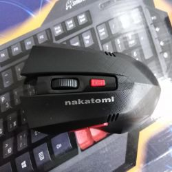 New wireless mouse