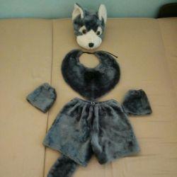 Το κοστούμι ενός λύκου ή ενός σκύλου