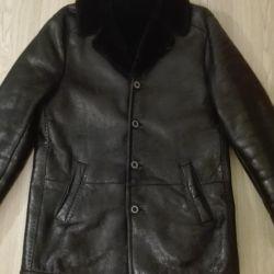 Πραγματικό παλτό από δέρμα προβάτου Vito Ponti