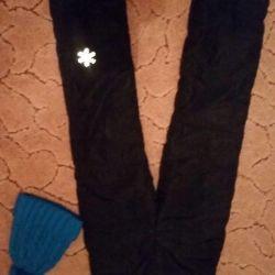 Bolonevye pants for a girl 8-10 let.Dlya 84cm.