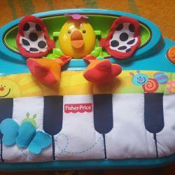 Пианино музыкальное мягкое Fisher Price