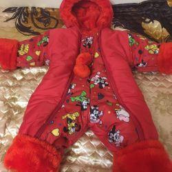 Winter overalls (74-80)