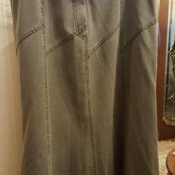 Jeans skirt. Turkey.