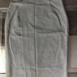 Checkered ZARA Skirt