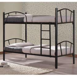 Yatak Ranzası Metalik Siyah 90x190