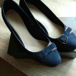 Suede pantofi + sac p. 37